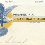 Fantastic 1933 Philadelphia Eagles NFL Recruiting Letter