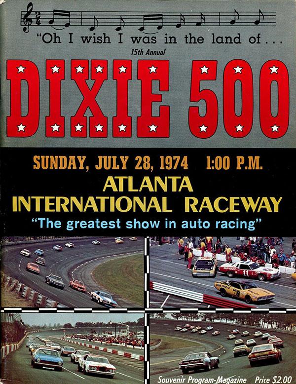 1974 Dixie 500