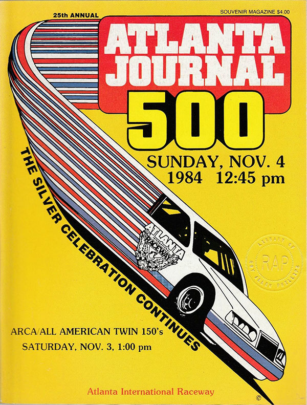 1984 Atlanta Journal 500