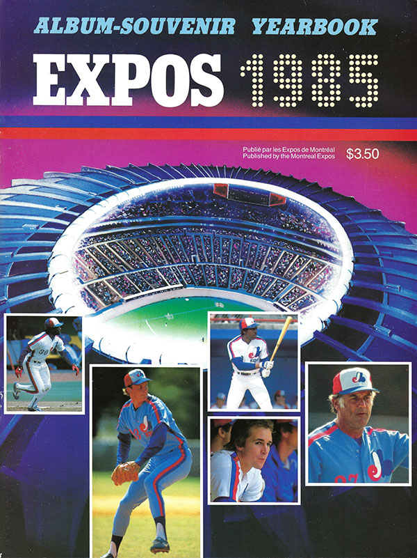 1985 Montreal Expos Yearbook