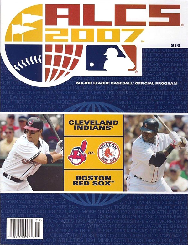 2007 ALCS (BOSTON RED SOX VS. CLEVELAND INDIANS)