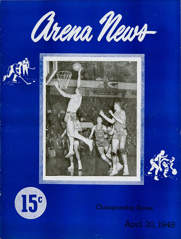 1948 NBA Finals program