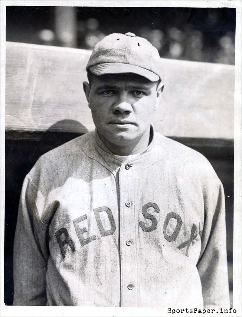 Why was babe ruth called the great bambino-2398