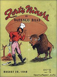 San Francisco 49ers vs. Buffalo Bills (August 29, 1948)