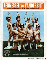 Tennessee Volunteers vs. Vanderbilt Commodores (November 29, 1969)