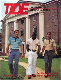 Alabama Crimson Tide vs. Georgia Tech Yellow Jackets (September 6, 1980)