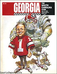 Georgia Bulldogs vs. South Carolina Gamecocks (September 24, 1983)