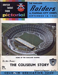 Oakland Raiders vs. Kansas City Chiefs (September 18, 1966)