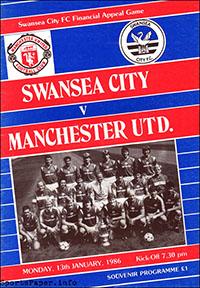 Swansea City vs. Manchester United (January 13, 1986)