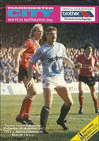 Manchester City vs. Middlesbrough (November 4, 1987)