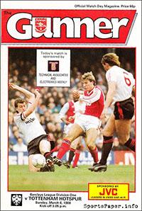 Arsenal vs. Tottenham Hotspur (March 6, 1988)