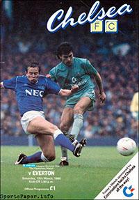 Chelsea vs. Everton (March 12, 1988)