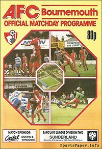 AFC Bournemouth vs. Sunderland (January 21, 1989)