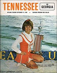 Tennessee Volunteers vs. Georgia Bulldogs (September 14, 1968)