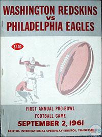 Washington Redskins vs. Philadelphia Eagles (September 2, 1961)
