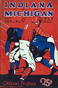 Michigan Wolverines vs. Indiana Hoosiers (October 10, 1925)