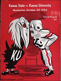 Kansas State Wildcats vs. Kansas Jayhawks (October 30, 1954)