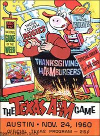 Texas Longhorns vs. Texas A&M Aggies (November 24, 1960)