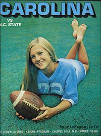 North Carolina Tar Heels vs. NC State Wolfpack (October 19, 1974)