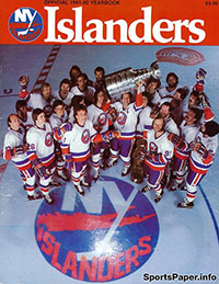 1981-82 New York Islanders Yearbook