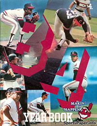 1984 Cleveland Indians Yearbook