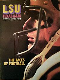 LSU Tigers (#19) vs. Texas A&M Aggies (September 22, 1973)