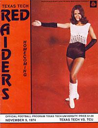 Texas Tech Red Raiders vs. TCU Horned Frogs (#11) (November 9, 1974)