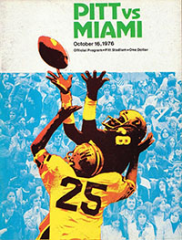 Pittsburgh Panthers vs. Miami Hurricanes (#2) (October 16, 1976)