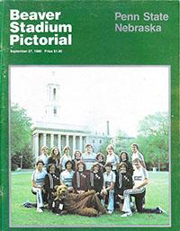 Penn State Nittany Lions (#13) vs. Nebraska Cornhuskers (September 27, 1980)