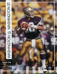 Washington Huskies (#15) vs. Washington State Cougars (#14) (November 18, 1989)