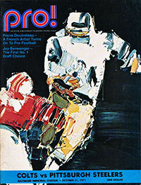 Baltimore Colts vs. Pittsburgh Steelers (October 31, 1971)
