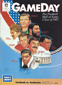 St. Louis Cardinals vs. Seattle Seahawks (August 22, 1987)