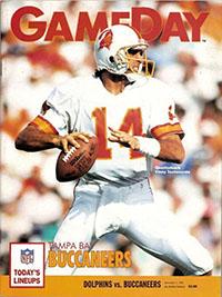 Miami Dolphins vs. Tampa Bay Buccaneers (December 1, 1991)