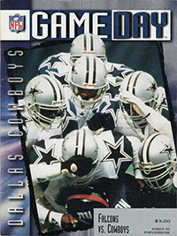 Atlanta Falcons vs. Dallas Cowboys (October 29, 1995)