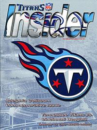 Tennessee Titans vs. Cincinnati Bengals (September 12, 1999)