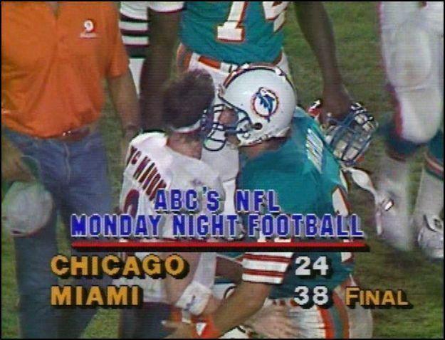 Chicago Bears at Green Bay Packers - November 3rd, 1985