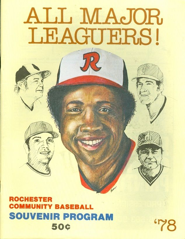 1978 Rochester Red Wings program