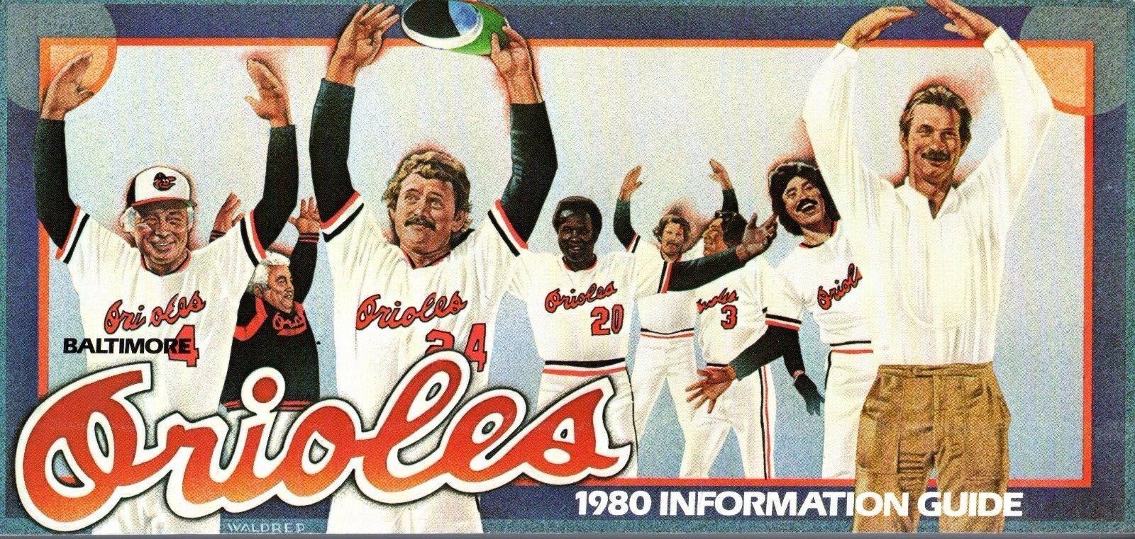 1980 Baltimore Orioles media guide