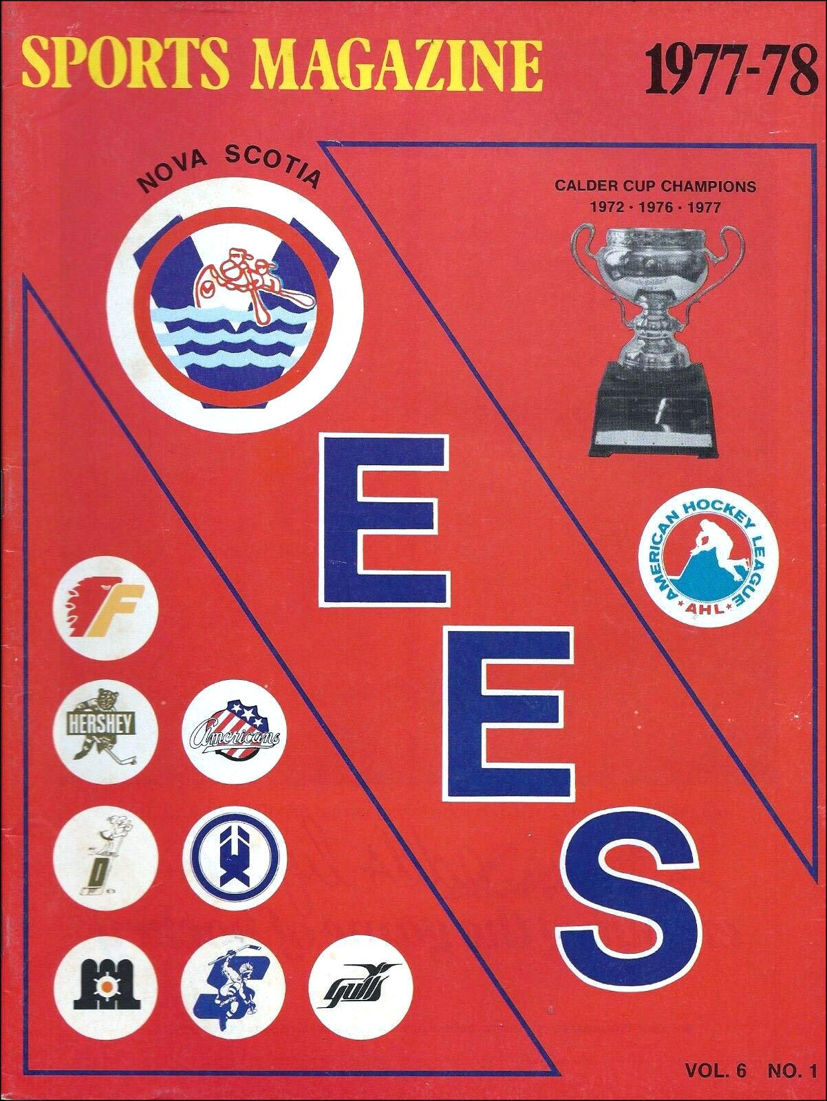 Nova Scotia Voyageurs AHL program, 1977-78