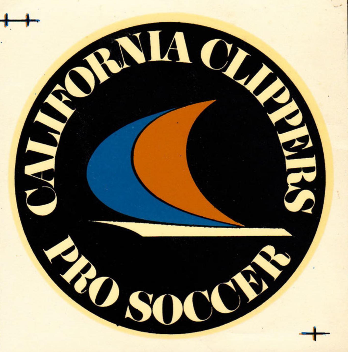 1968-69 California Clippers soccer sticker