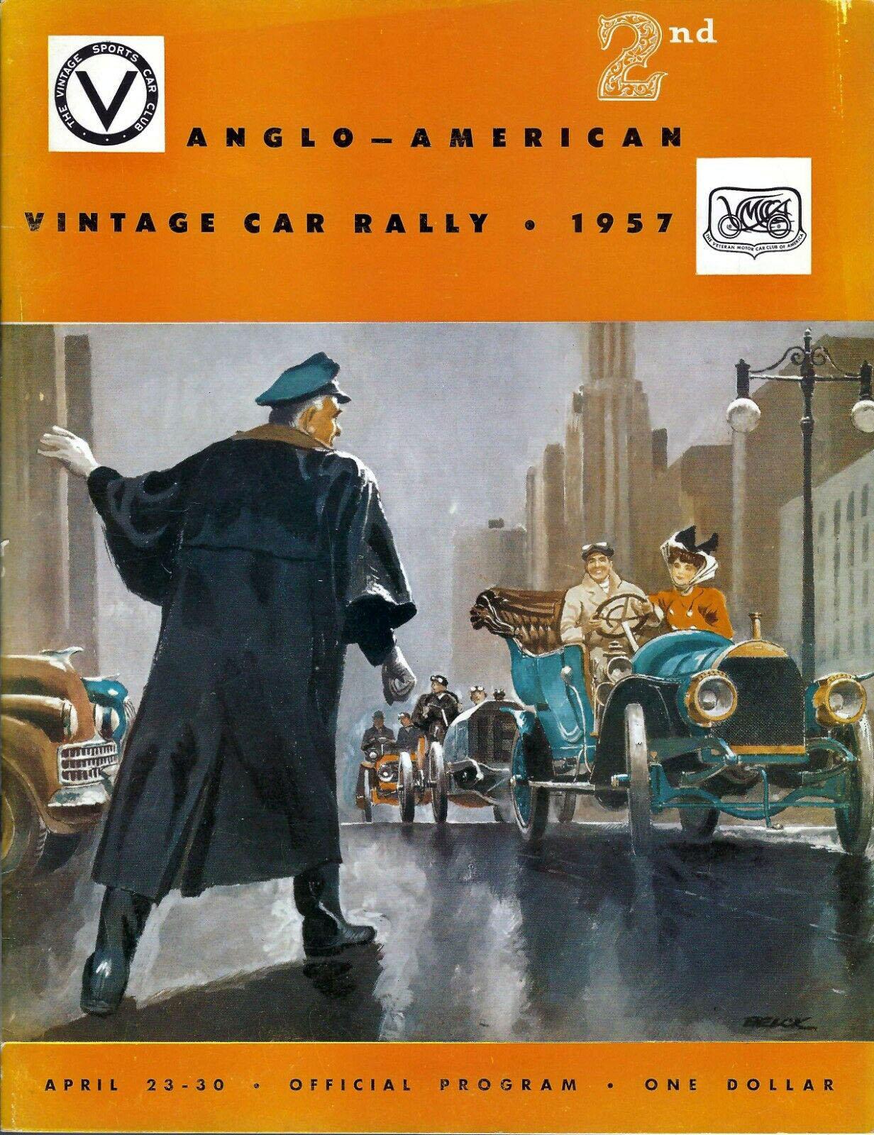 1957 Anglo-American Vintage Car Rally