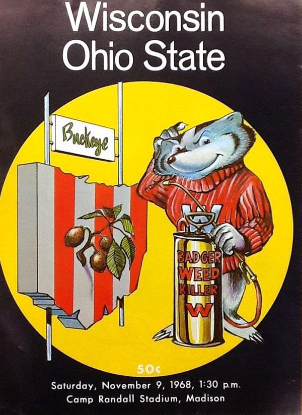 College Football Program: Wisconsin Badgers vs. Ohio State ...