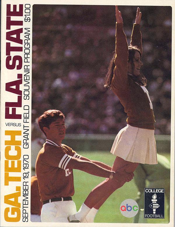 Georgia State College >> College Football Program: Georgia Tech Yellow Jackets vs. Florida State Seminoles (September 19 ...