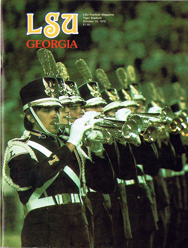 LSU TIGERS VS. GEORGIA BULLDOGS (OCTOBER 14, 1978)