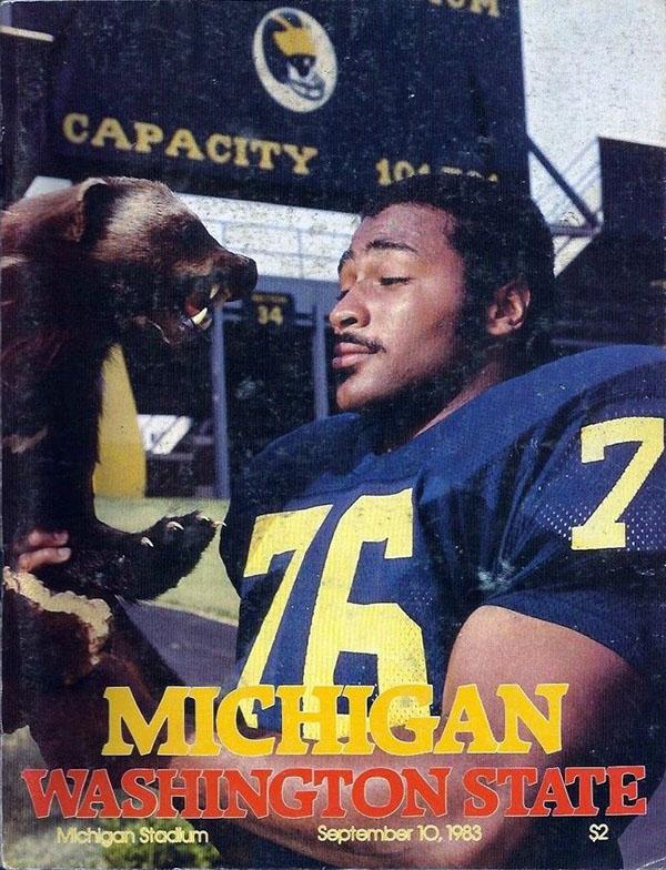 Michigan Wolverines vs. Washington State Cougars (September 10, 1983)