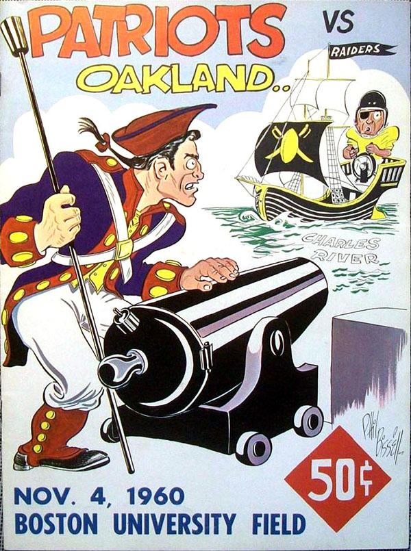 Boston Patriots vs. Oakland Raiders (November 4, 1960)