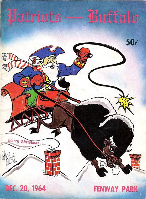 Boston Patriots vs. Buffalo Bills (December 20, 1964)