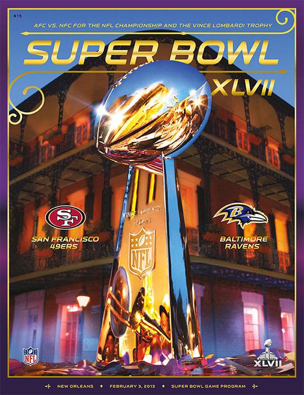 Super Bowl XLVII (February 3, 2013) -- Baltimore Ravens 34, 49ers 31