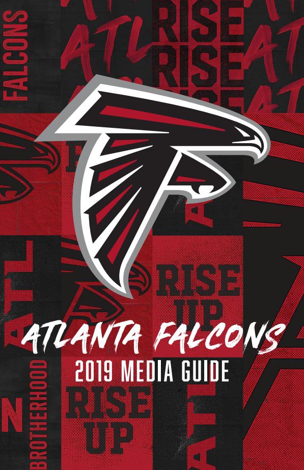 2019 Atlanta Falcons media guide