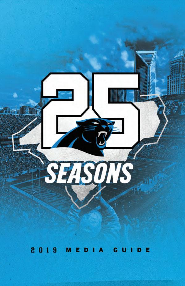2019 Carolina Panthers media guide